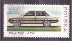Stamps Poland -  Vehículo a motor