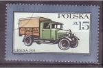Stamps Poland -  cmión ursus