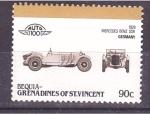 Sellos de America - Granada -  serie- AUTO 100