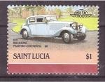 Sellos del Mundo : America : Santa_Lucia : serie- AUTO 100