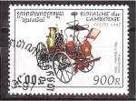 Stamps Cambodia -  serie- Camiones de bomberos