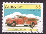 Stamps Cuba -  serie- Camiones de bomberos
