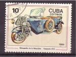 Stamps Cuba -  Retrospectiva de la motocicleta