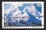 Sellos de America - Estados Unidos -  Monte McKinley, Alaska