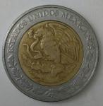 monedas de America - México -  1999 - 5 pesos