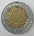 monedas de America - México -  2000 - 1 peso