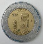 monedas de America - México -  2005 anverso