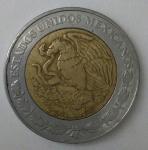 monedas de America - México -  2005 anverso 5 pesos