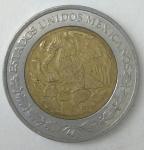 monedas de America - México -  2011- 1 peso