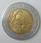 monedas de America - México -  2017 - 1 peso