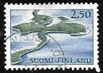 Sellos de Europa - Finlandia -  Reserva Natural Punkaharju