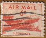 Stamps United States -  DC-4 SKYMANSTER