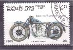 sellos de Asia - Laos -  serie- motocicletas