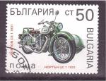 Sellos de Europa - Bulgaria -  serie- motocicletas