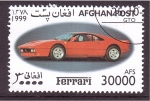 Stamps : Asia : Afghanistan :  serie- Ferrari