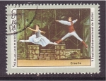 Stamps Cuba -  V fest. intern. de ballet