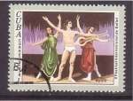 Sellos de America - Cuba -  V fest. intern. de ballet