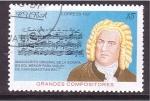 Sellos de America - Cuba -  serie- grandes compositores