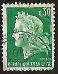 Sellos de Europa - Francia -  Marianne of Cheffer