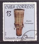 Stamps Cuba -  Intrum. folklóricos