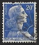 Sellos de Europa - Francia -  Marianne de Muller