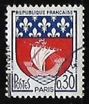 Sellos de Europa - Francia -  Escudo de armas - Paris
