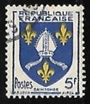 Sellos de Europa - Francia -  Escudo de armas - Saint Tonge