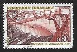 Sellos de Europa - Francia -  Le Barrage de Vouglans