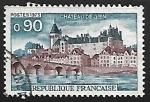 Sellos de Europa - Francia -  Castillo de Gien