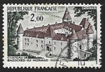 Sellos de Europa - Francia -  Castle of Bazoches du Morvand