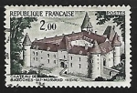 Sellos de Europa - Francia -  Castle of Bazoches du Morvand
