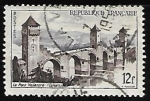 Sellos de Europa - Francia -  Puente Valentré