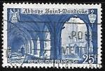 Sellos de Europa - Francia -  Abadía de Saint-Wandrille