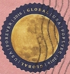 Stamps : America : United_States :  La Luna - Global Forever