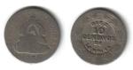 monedas de America - Honduras -  10 Centavos de Lempira