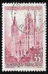 Sellos de Europa - Francia -  Catedral de Ruan
