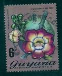 sello : America : Guayana_Francesa : Couroupita guianensis