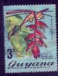 sello : America : Guayana_Francesa : Heleconia collinsiana