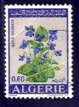 Sellos del Mundo : Africa : Argelia : Viola odorata