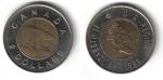 monedas de America - Canadá -  2 Dollars