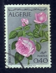 Sellos del Mundo : Africa : Argelia : Rosa odorata