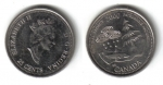 monedas de America - Canadá -  25 Centavos