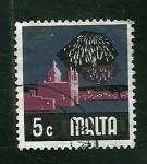 Stamps Malta -   Fuegos artificialea