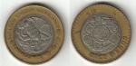 monedas de America - México -  10 Pesos