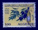 Sellos del Mundo : Africa : Argelia : Olivos y deribado
