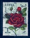 Sellos del Mundo : Africa : Libia : Rosa