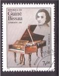 Sellos de Africa - Guinea Bissau -  serie- grandes compositores