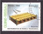 Stamps Guinea Bissau -  Intrum. folklóricos