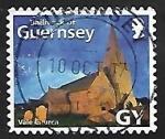 Sellos de Europa - Reino Unido -  Guernsey - Iglesia Parroquial de S. Michel du Valle