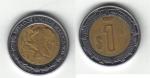 monedas de America - México -  1 Peso